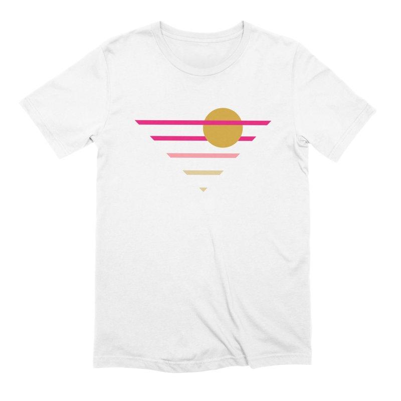 tequila sunrise Men's T-Shirt by sustici's Artist Shop