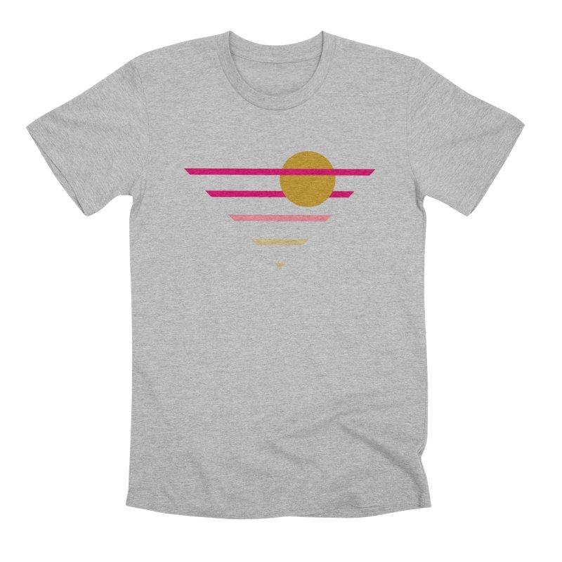 tequila sunrise Men's Premium T-Shirt by sustici's Artist Shop