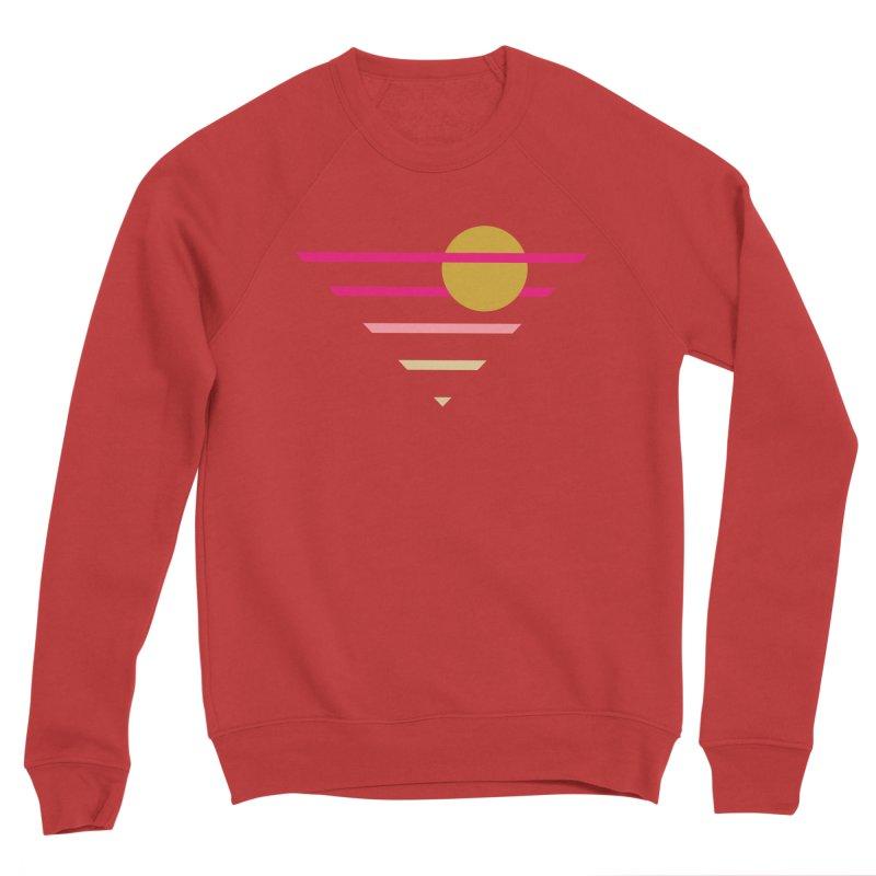 tequila sunrise Men's Sponge Fleece Sweatshirt by sustici's Artist Shop
