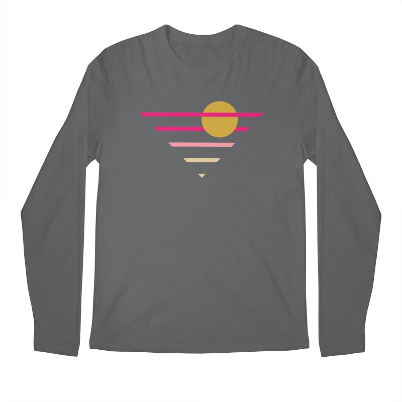 tequila sunrise Men's Longsleeve T-Shirt by sustici's Artist Shop