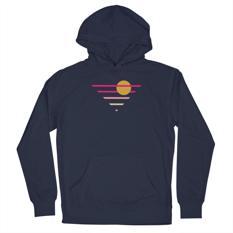 tequila sunrise Men's Pullover Hoody by sustici's Artist Shop