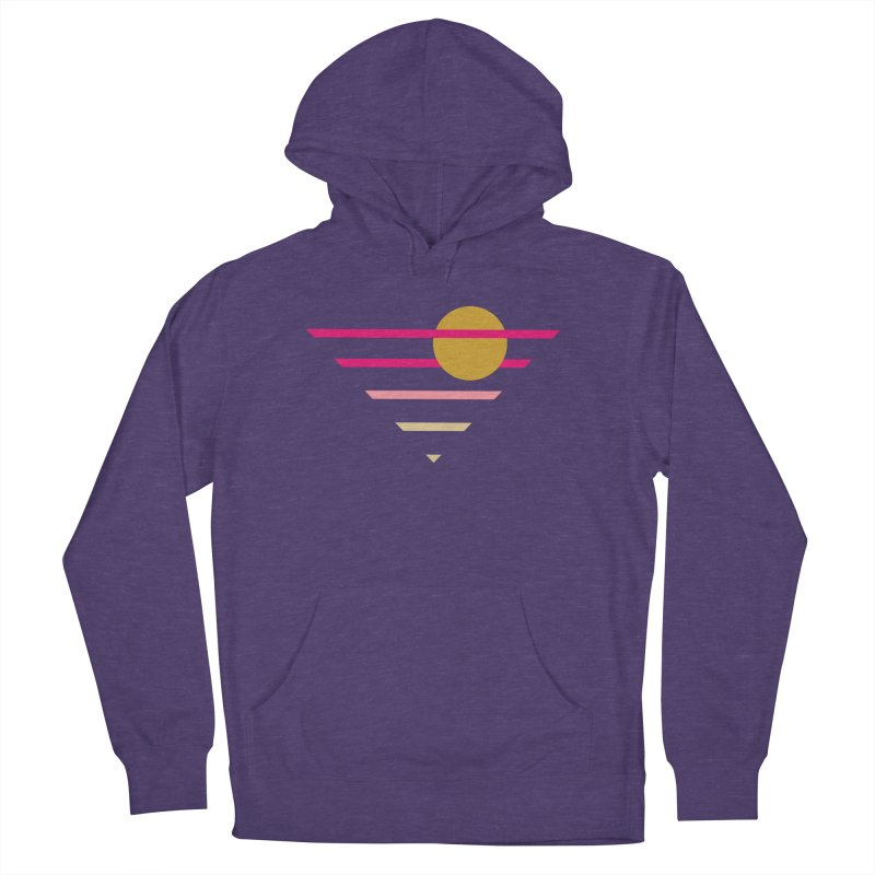 tequila sunrise Women's French Terry Pullover Hoody by sustici's Artist Shop