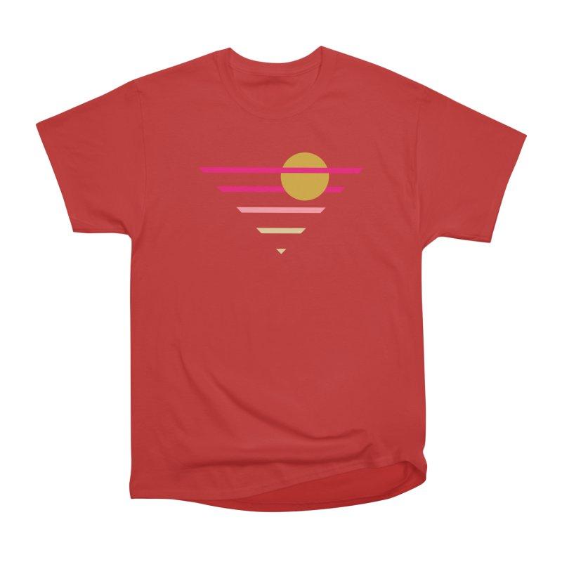 tequila sunrise Men's Heavyweight T-Shirt by sustici's Artist Shop