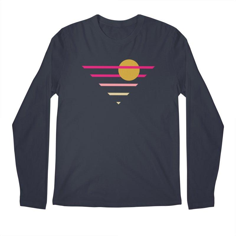 tequila sunrise Men's Regular Longsleeve T-Shirt by sustici's Artist Shop