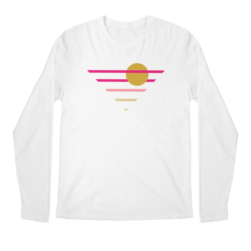 tequila sunrise Men's Regular Longsleeve T-Shirt by sustici's Artist Shop