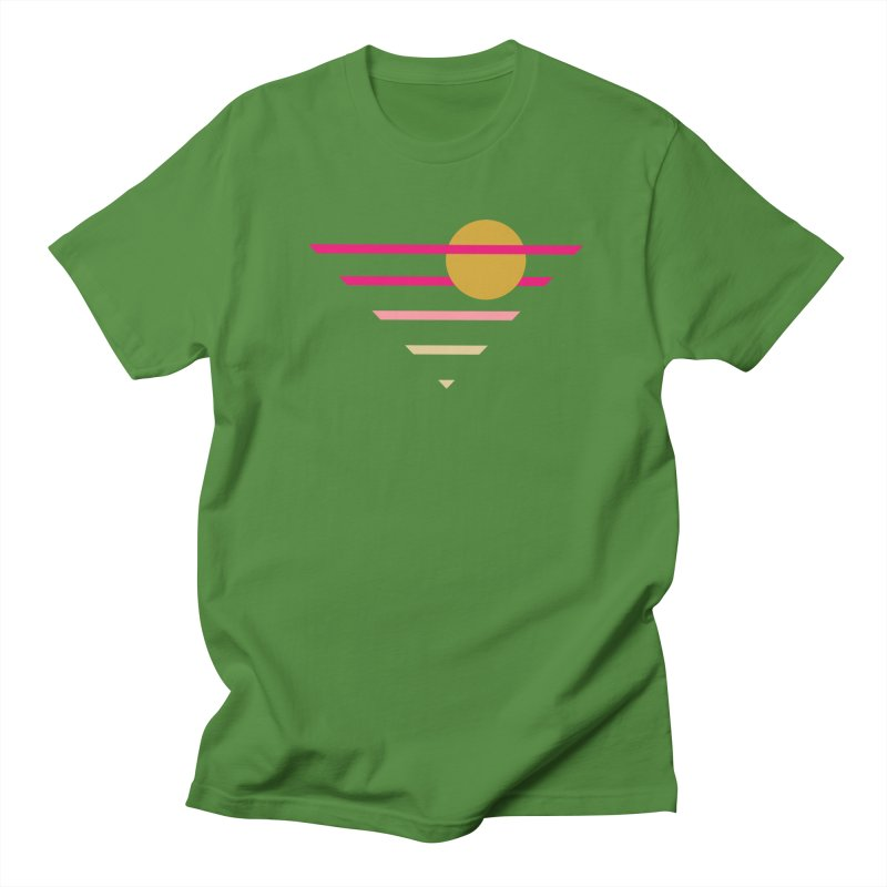 tequila sunrise Men's Regular T-Shirt by sustici's Artist Shop