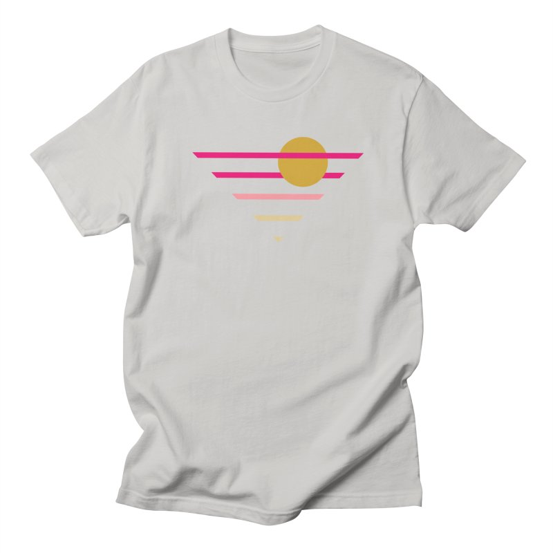 tequila sunrise Women's Regular Unisex T-Shirt by sustici's Artist Shop