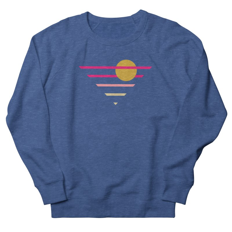 tequila sunrise Women's French Terry Sweatshirt by sustici's Artist Shop