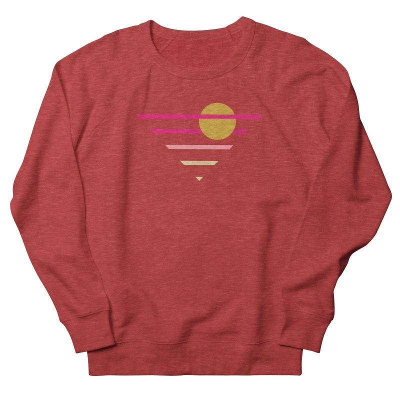 tequila sunrise Men's French Terry Sweatshirt by sustici's Artist Shop
