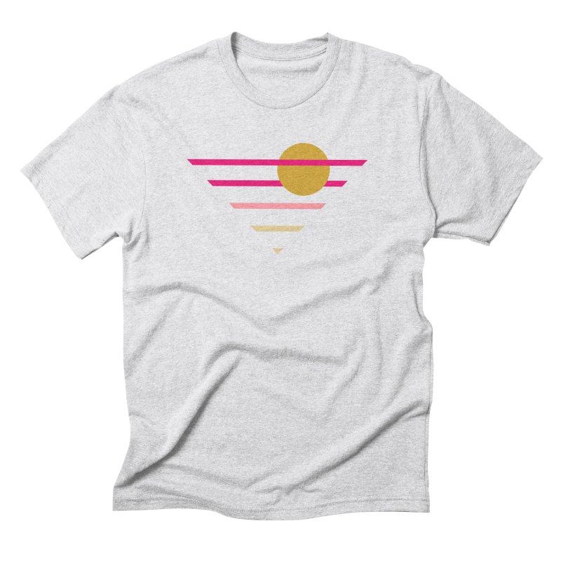 tequila sunrise Men's Triblend T-Shirt by sustici's Artist Shop