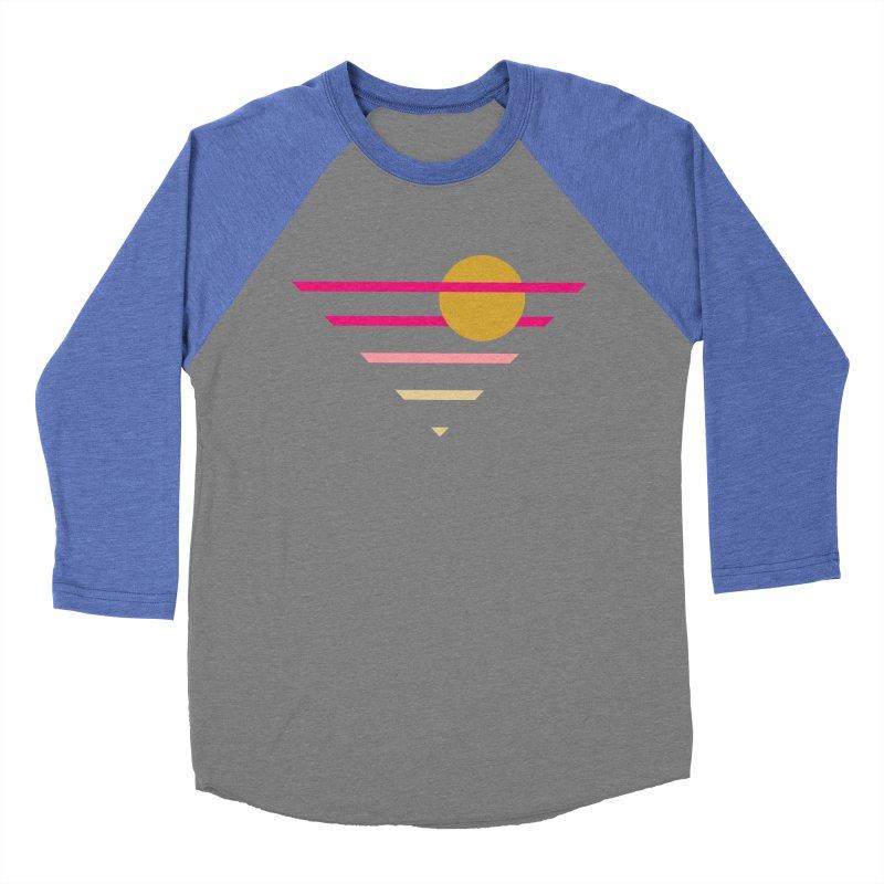 tequila sunrise Men's Baseball Triblend Longsleeve T-Shirt by sustici's Artist Shop