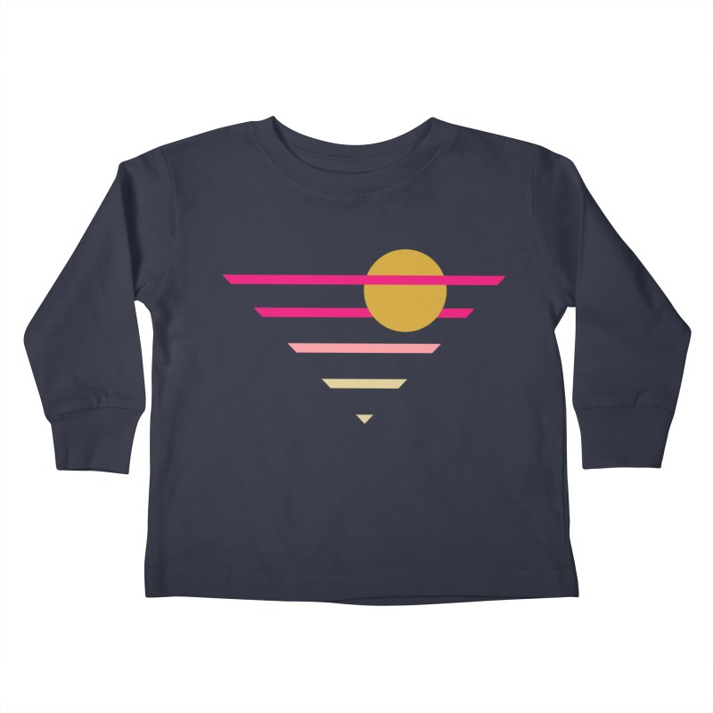 tequila sunrise Kids Toddler Longsleeve T-Shirt by sustici's Artist Shop