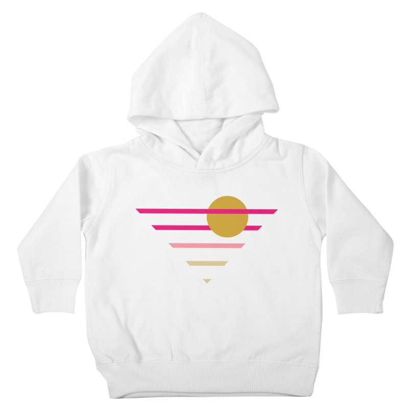 tequila sunrise Kids Toddler Pullover Hoody by sustici's Artist Shop