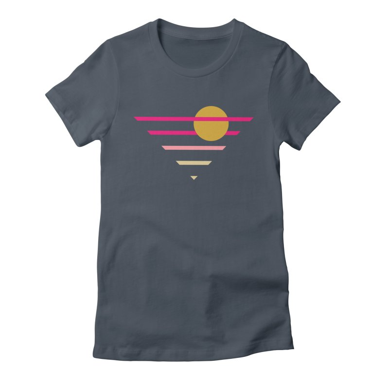 tequila sunrise Women's T-Shirt by sustici's Artist Shop