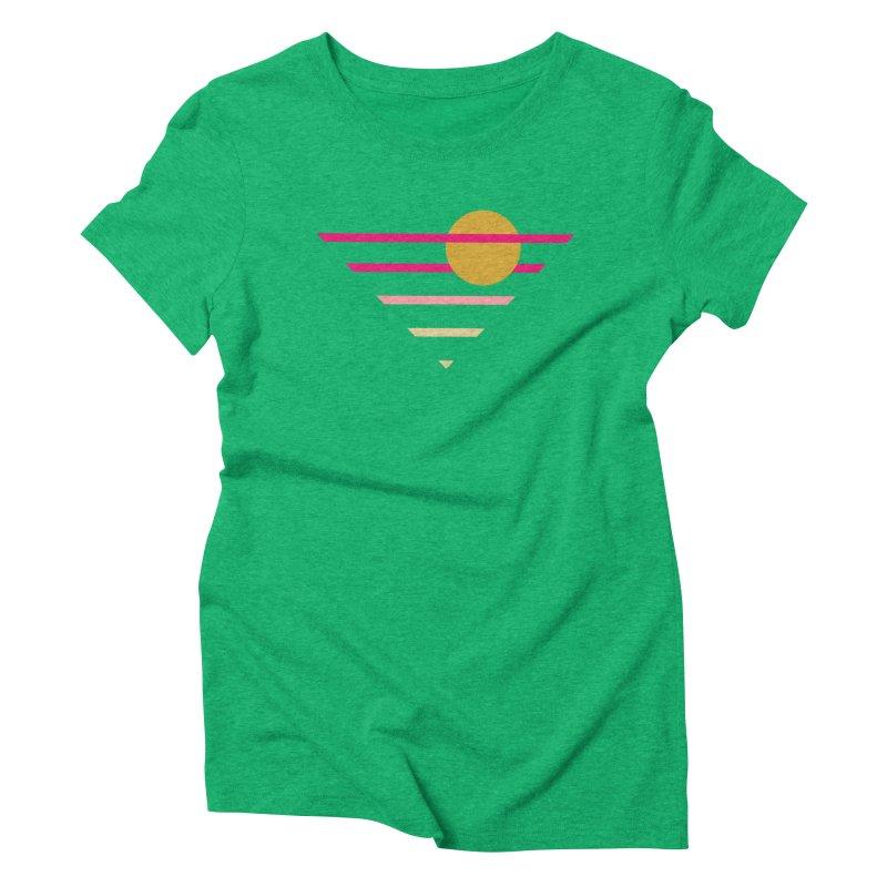 tequila sunrise Women's Triblend T-Shirt by sustici's Artist Shop