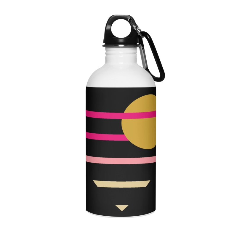 tequila sunrise Accessories Water Bottle by sustici's Artist Shop