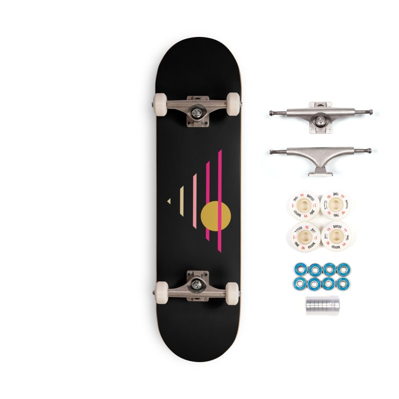 tequila sunrise Accessories Complete - Premium Skateboard by sustici's Artist Shop