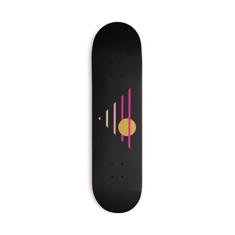 tequila sunrise Accessories Skateboard by sustici's Artist Shop