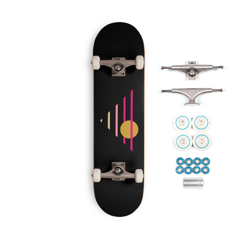 tequila sunrise Accessories Skateboard by sustici's Artist Shop