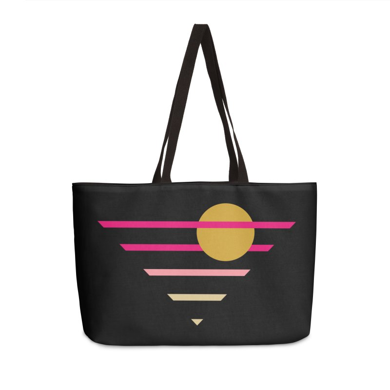 tequila sunrise Accessories Weekender Bag Bag by sustici's Artist Shop