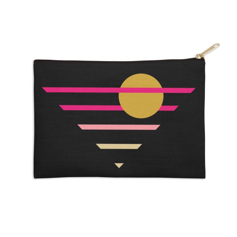 tequila sunrise Accessories Zip Pouch by sustici's Artist Shop
