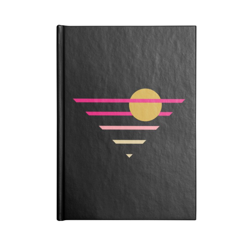 tequila sunrise Accessories Lined Journal Notebook by sustici's Artist Shop