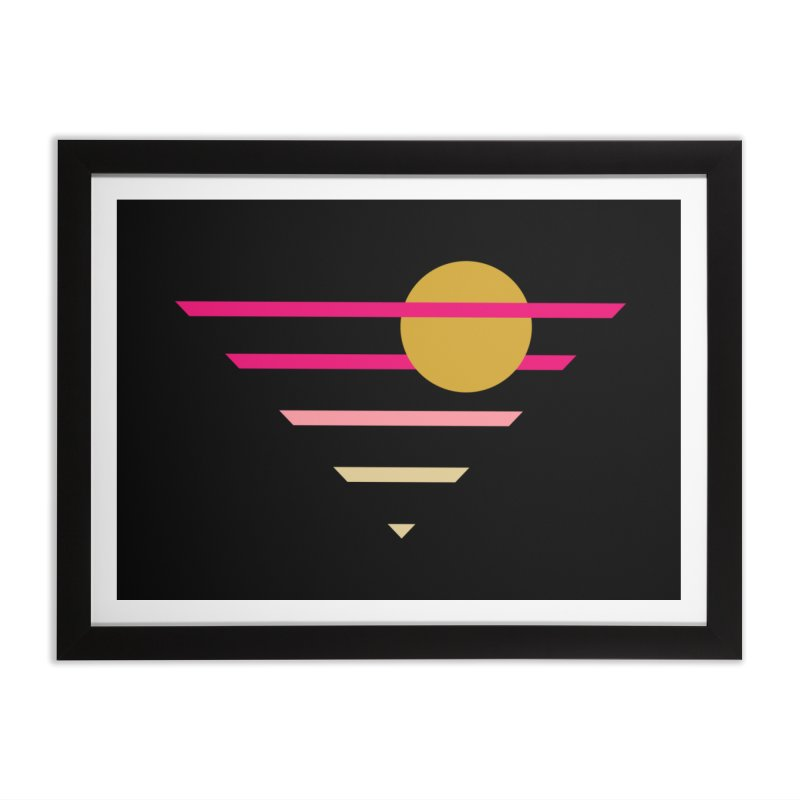 tequila sunrise Home Framed Fine Art Print by sustici's Artist Shop