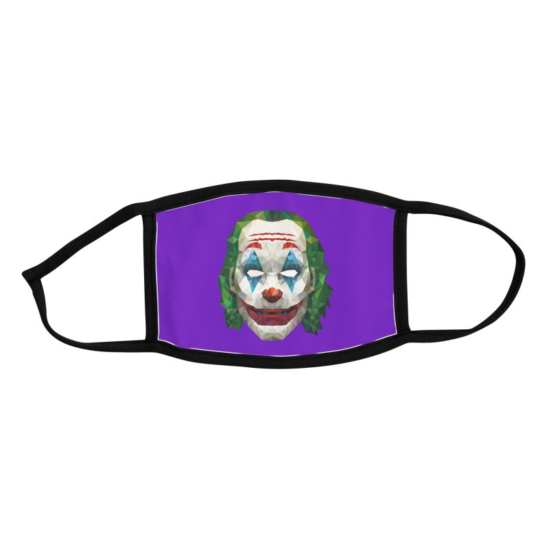 The Joker Design Accessories Face Mask by Suzanne Murphy Artist Shop