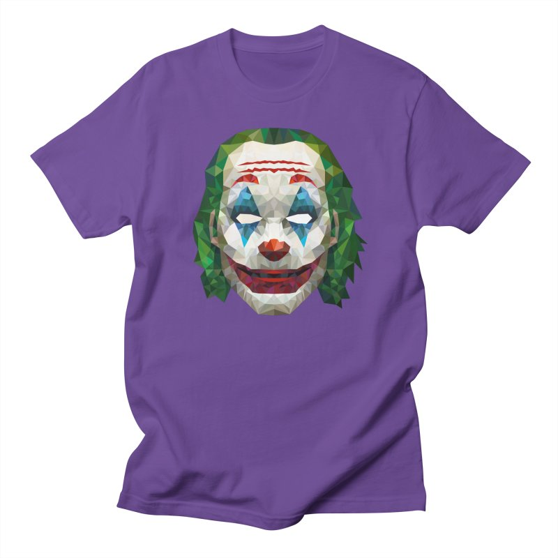 The Joker Design Men's T-Shirt by Suzanne Murphy Artist Shop