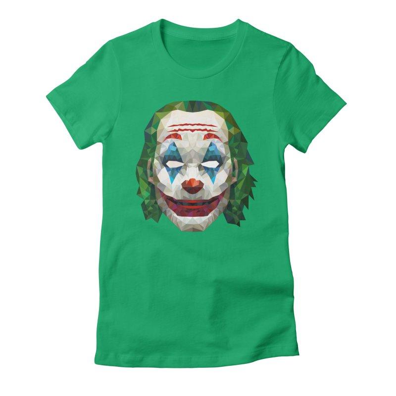 The Joker Design Women's T-Shirt by Suzanne Murphy Artist Shop
