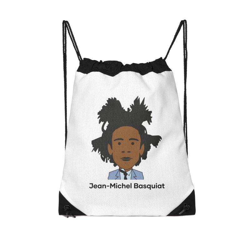 Jean Michel Basquiat Accessories Bag by Suzanne Murphy Artist Shop