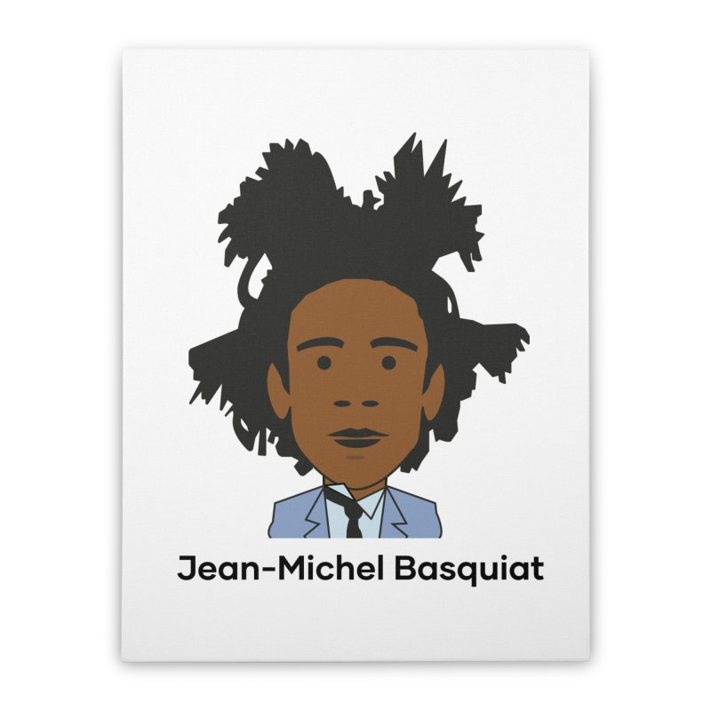 Jean Michel Basquiat Home Stretched Canvas by Suzanne Murphy Artist Shop