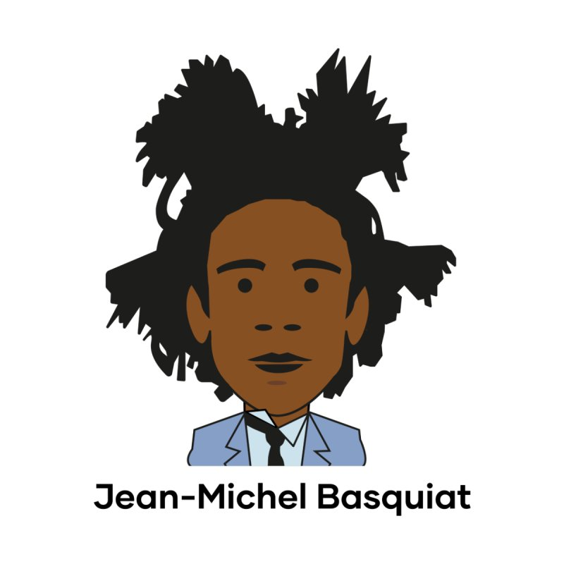 Jean Michel Basquiat Accessories Face Mask by Suzanne Murphy Artist Shop