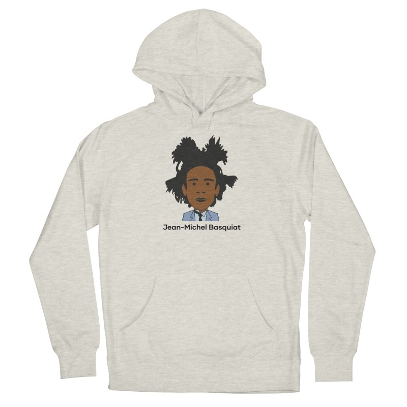 Jean Michel Basquiat Men's Pullover Hoody by Suzanne Murphy Artist Shop