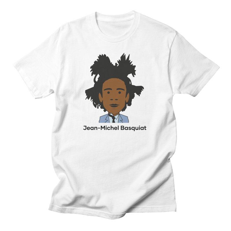 Jean Michel Basquiat Men's T-Shirt by Suzanne Murphy Artist Shop