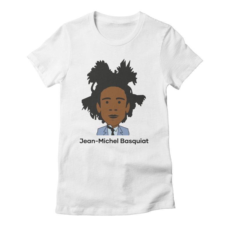 Jean Michel Basquiat Women's T-Shirt by Suzanne Murphy Artist Shop