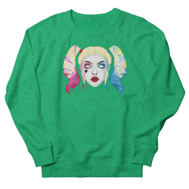 Harley Quinn Women's Sweatshirt by Suzanne Murphy Artist Shop