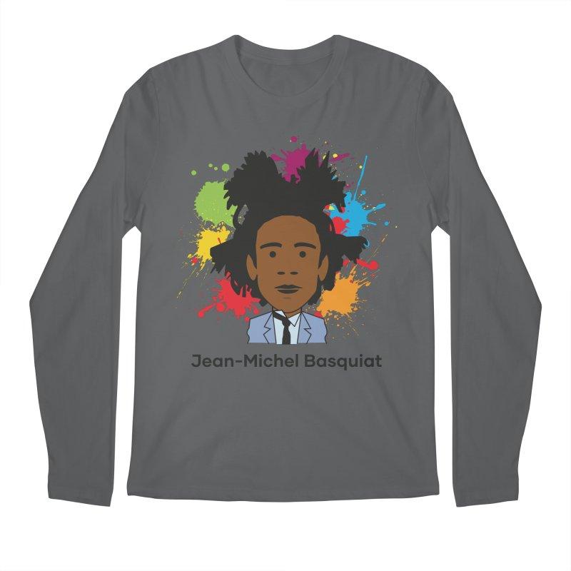 Jean-Michel Basquiat Men's Longsleeve T-Shirt by Suzanne Murphy Artist Shop
