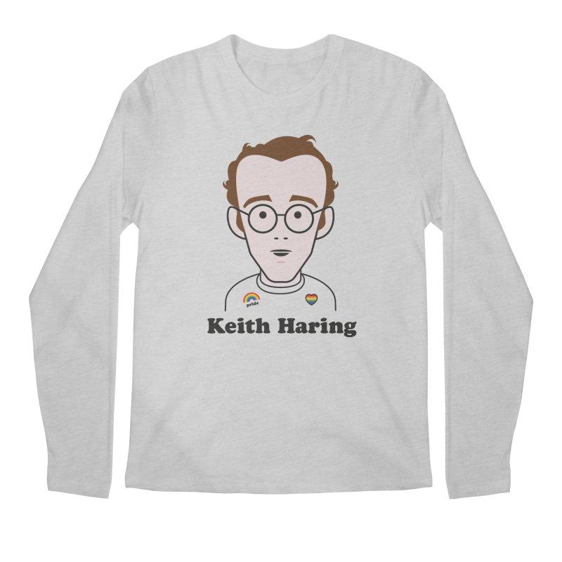 Keith Haring Artist Men's Longsleeve T-Shirt by Suzanne Murphy Artist Shop