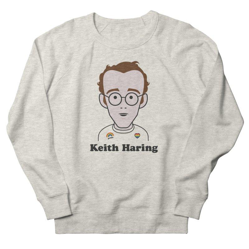Keith Haring Artist Women's Sweatshirt by Suzanne Murphy Artist Shop