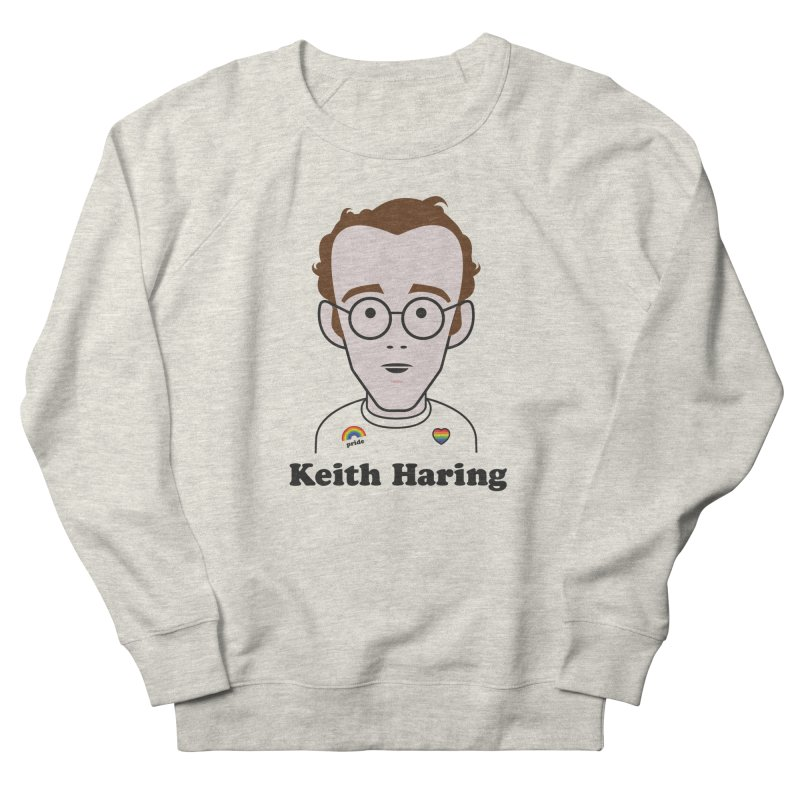 Keith Haring Artist Men's Sweatshirt by Suzanne Murphy Artist Shop