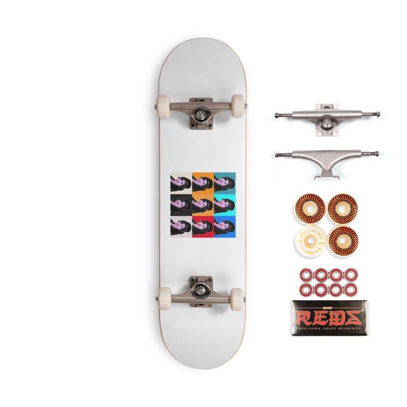 Amy Winehouse Warhol Superstar Accessories Skateboard by Suzanne Murphy Artist Shop