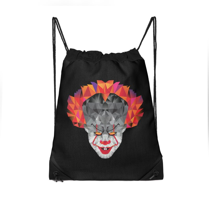 Scary Clown Designs Accessories Bag by Suzanne Murphy Artist Shop