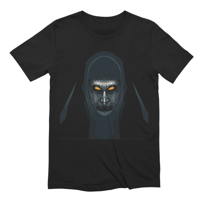 The Nun in Men's Extra Soft T-Shirt Black by Suzanne Murphy Artist Shop