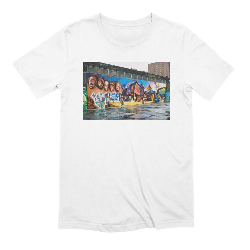 Harlem Playground #1 in Men's Extra Soft T-Shirt White by Suzanne Murphy Artist Shop