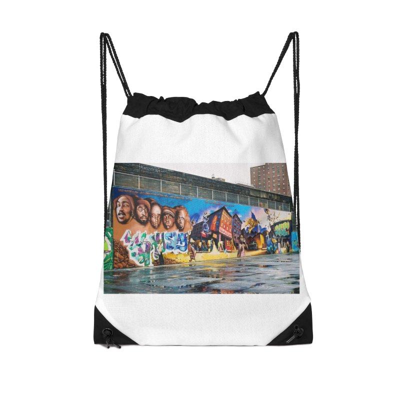 Harlem Playground #1 Accessories Bag by Suzanne Murphy Artist Shop