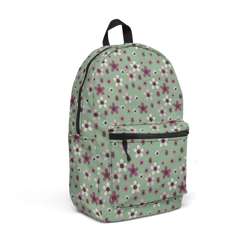 Tea Tree Flowers Accessories Backpack Bag by Svaeth's Artist Shop