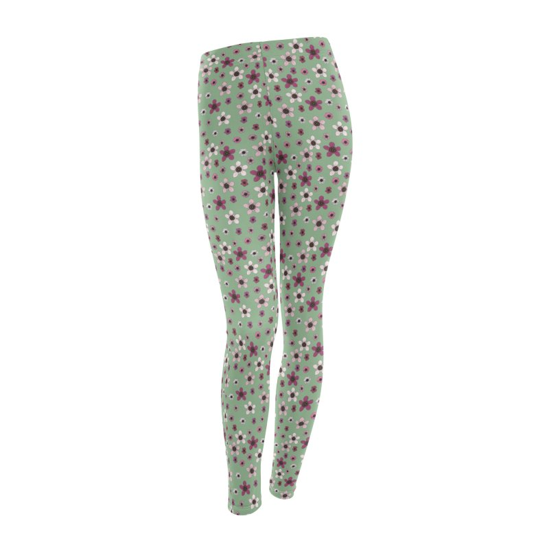 Tea Tree Flowers Women's Bottoms by Svaeth's Artist Shop