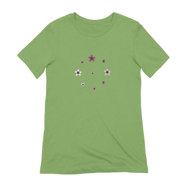 Tea Tree Flowers Women's Extra Soft T-Shirt by Svaeth's Artist Shop