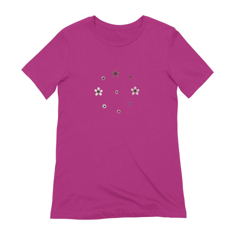 Tea Tree Flowers Women's Extra Soft T-Shirt by Svaeth's Artist Shop